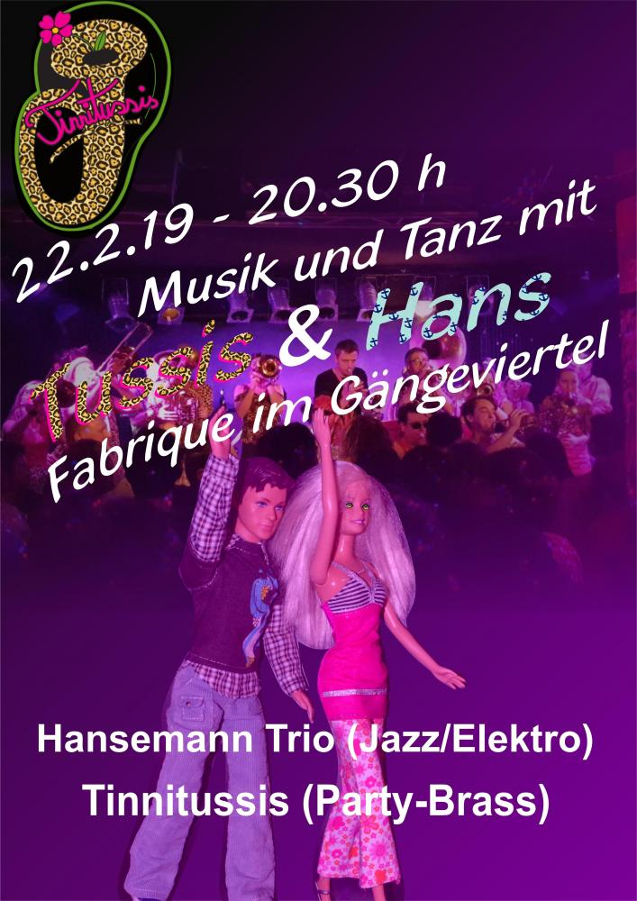 Tinnitussis in der Fabrique 22.2.2019